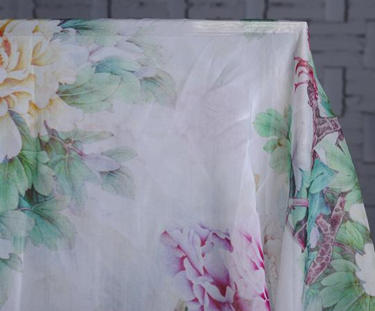 Oil Paint Printing Chiffon Scarf