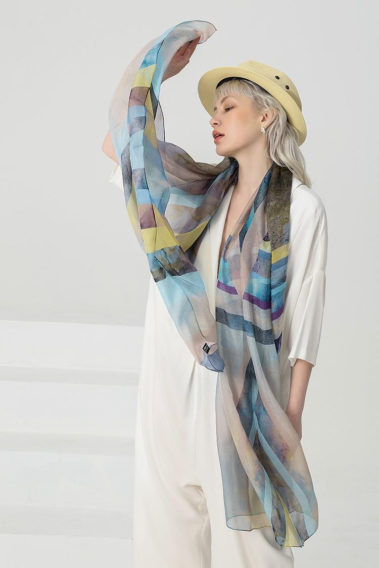 Silk Neck Scarves Wholesale