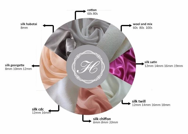 Ladies Silk Scarves Hand Rolled-6