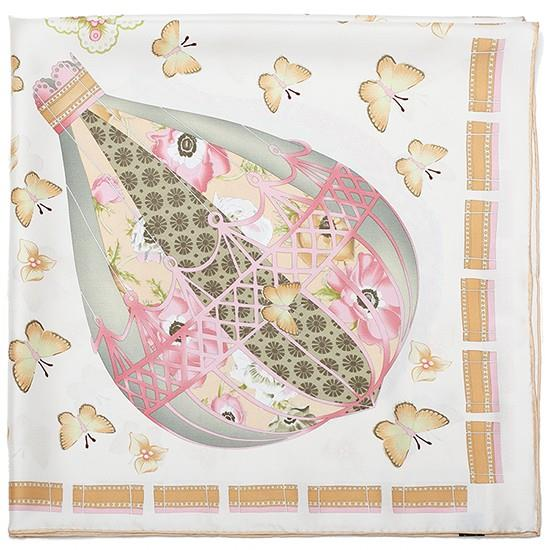 Butterfly Small Square Silk Scarves-1