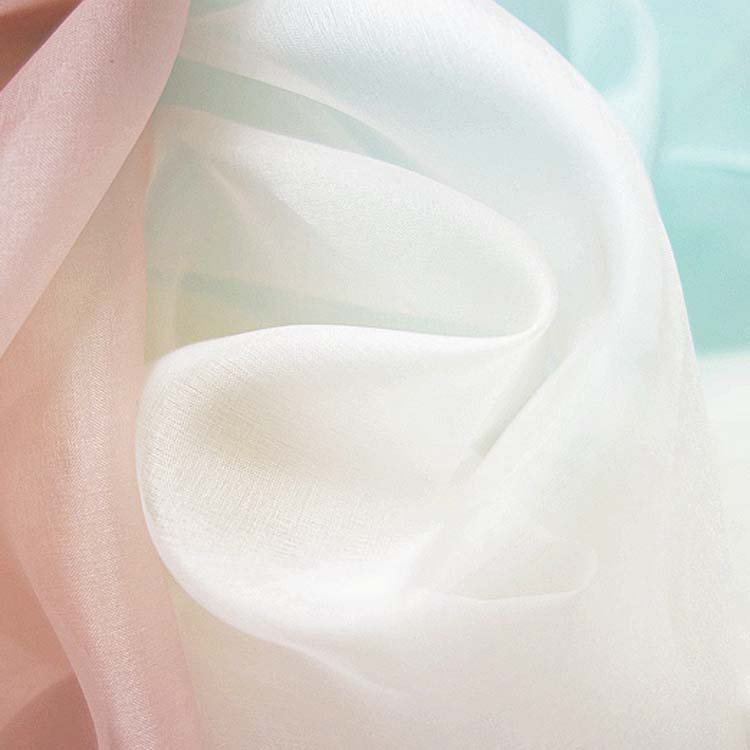 White Silk Fabric for Printing-2