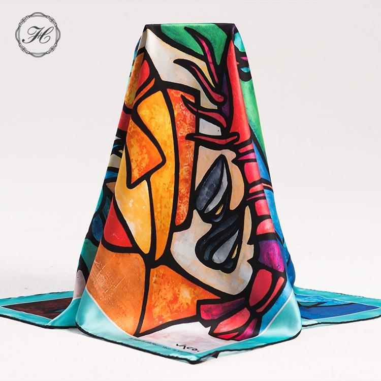 High quality silk like scarf