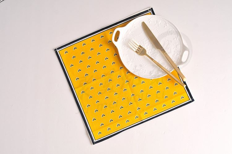 Cotton Table Mat for Dining Room-1
