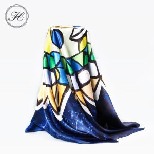 Silk Satin Neck Scarves