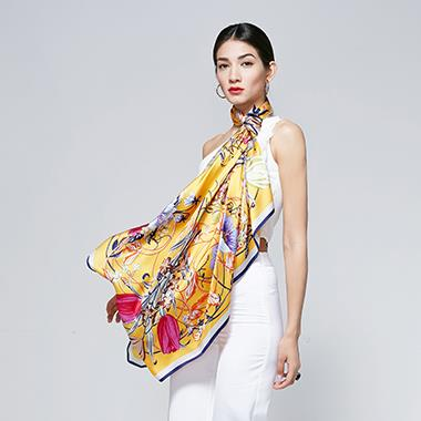 Floral Scarf Shawls For Women