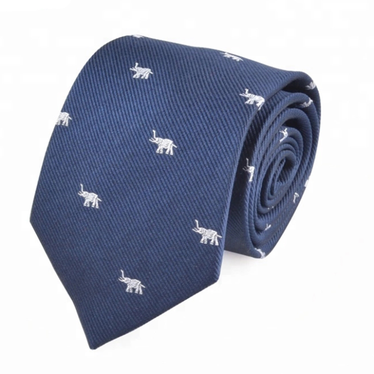 Private Label Silk Ties with Animal