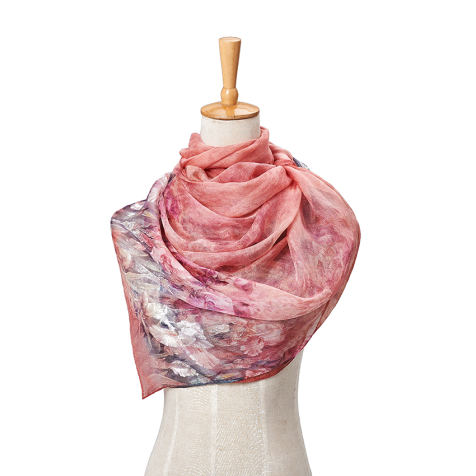Muslim Silk Head Scarf for Women