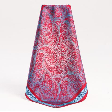 Luxury Paisley Pattern Silk Scarf