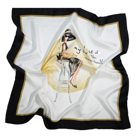 Wholesale White Silk Scarves for Dyeing