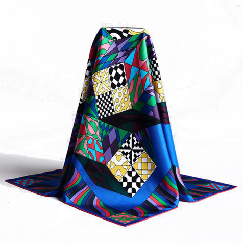 Silk Neckerchief Scarves Factory