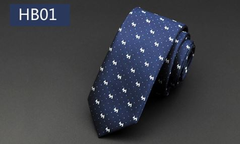 Fashion Polyester Jacquard Men Ties