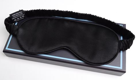 Pure Silk Satin Night Eye Mask