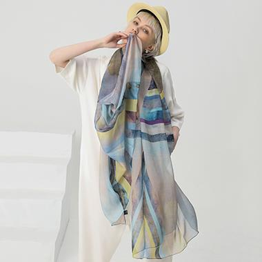 Silk Neck Scarves