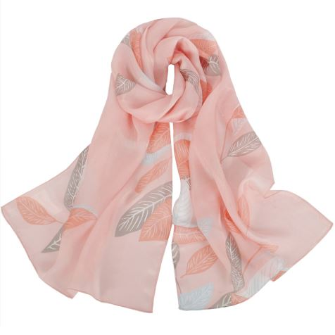 Summer Thin Silk Scarf