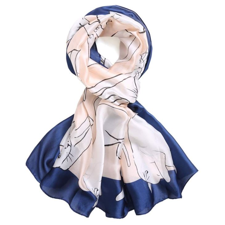 Cheap Long Silk Scarves For Ladies