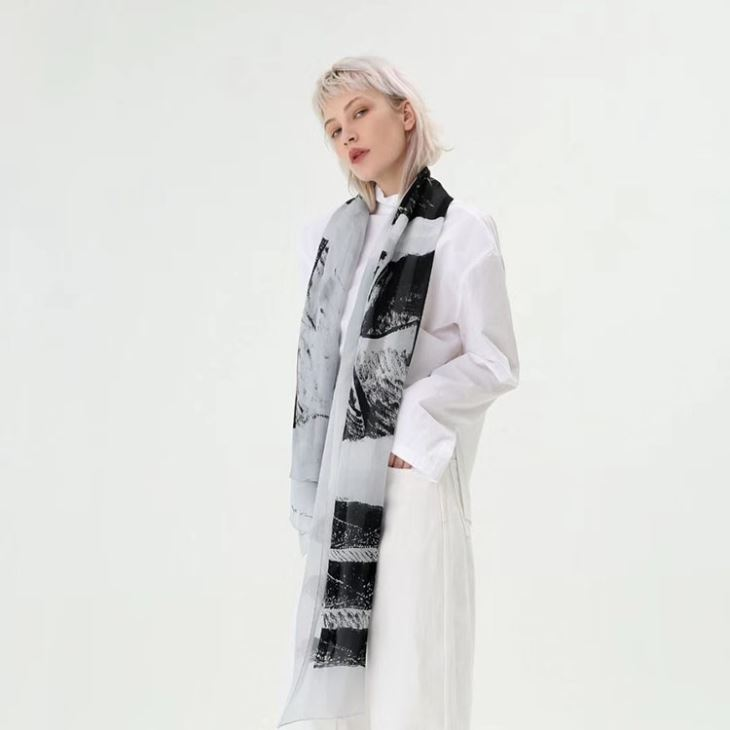 Printed Modal Scarf
