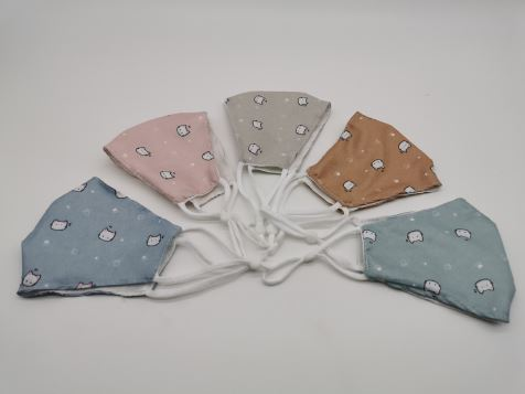 Cotton Fabric Reusable Face Masks