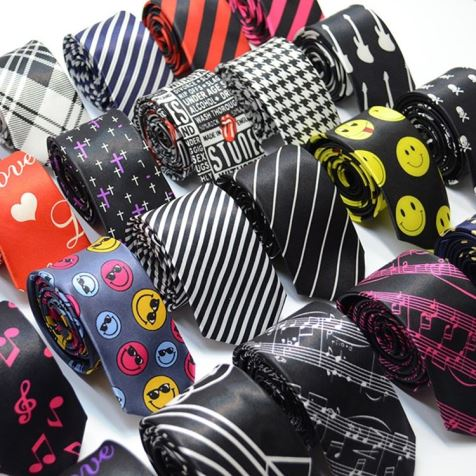 Digital Printed Silk Tie