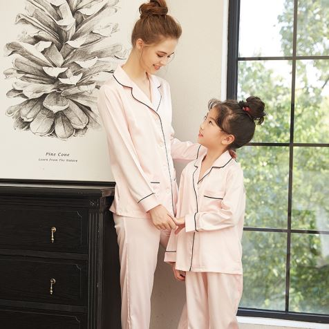 Family Silk Pajamas