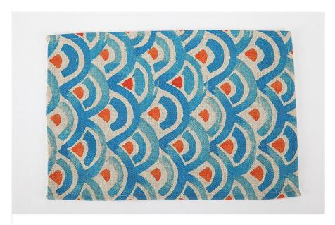 Print Decorative Cotton Dinner Placemat