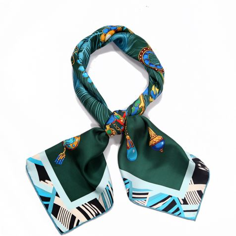 Washable Printing Silk Scarves