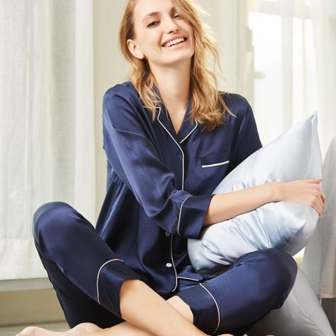 Winter Silk Pajamas